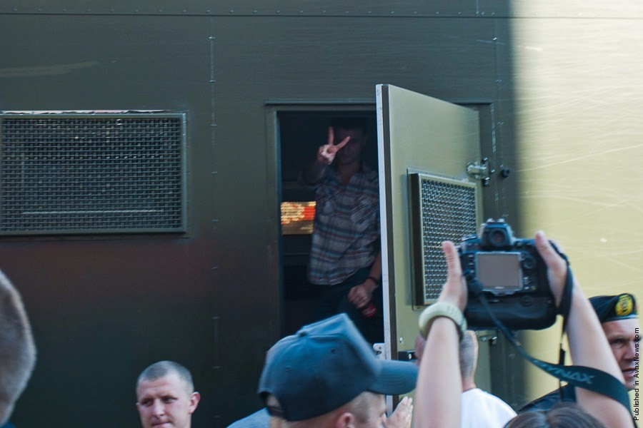 Belarus Riot Police Detained Demonstrators At A Protest Rally Against President Alexander Lukashenko