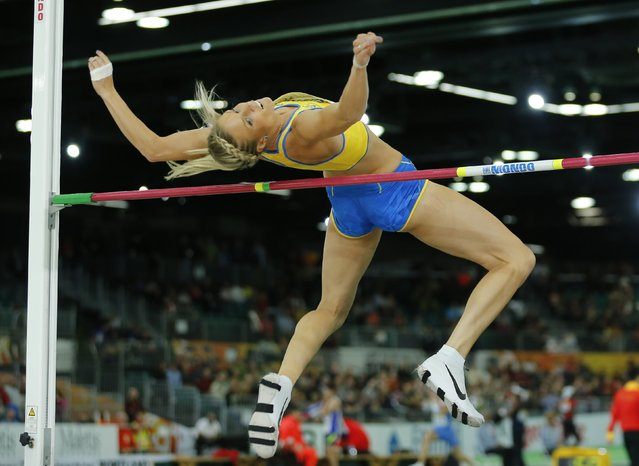 Erika Kinsey of Sweden competes in the women's high jump final during the IAAF World Indoor Athletics Championships in Portland, Oregon March 20, 2016. (Photo by Mike Blake/Reuters)