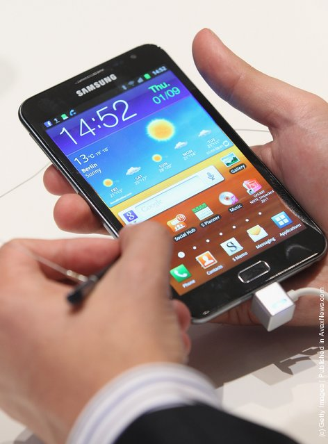 Samsung Galaxy Note mini tablet