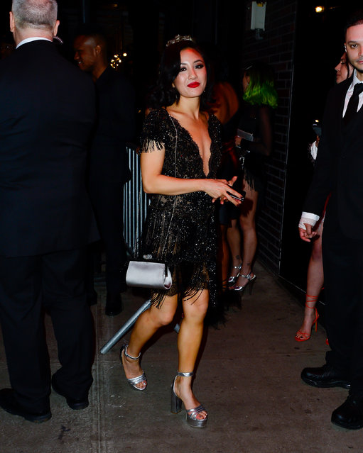 Constance Wu at the Met Gala Afterparty Standard Hotel on May 7, 2019. (Photo by North Woods/Splash News and Pictures)