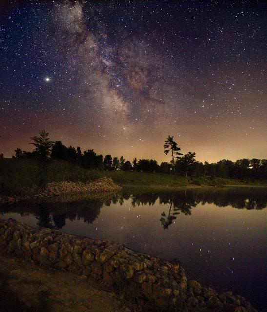 Milky Way over Ontario