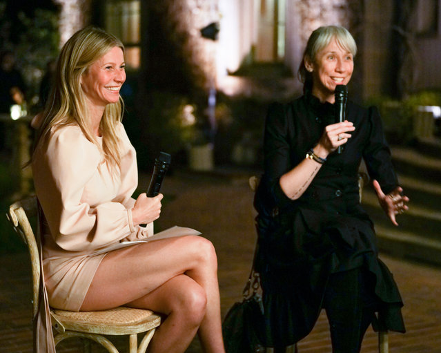 Gwyneth Paltrow and goop Host Glow To Dinner Alexandra Grant in Beverly Hills, California on February 19, 2020. (Photo by BFA/Action Press/Picturedesk)