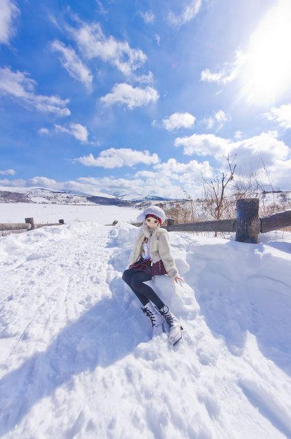 Snow & Blue. Model: DollfieDream Rina Ogata