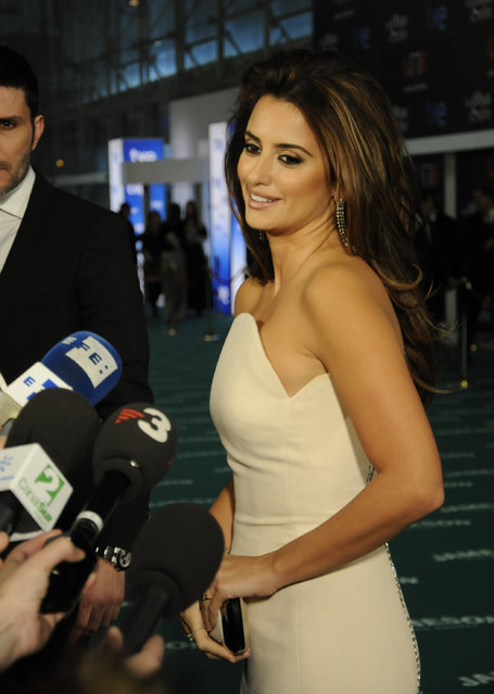 """Ceremony of delivery of the cinematographic prizes """"Goya 2010"""", the actress Penelope Cruz, 14th February 2010, """"Palacio Municipal de Congresos"""", Madrid, Spain. (Photo by Gianni Ferrari/Getty Images)"""