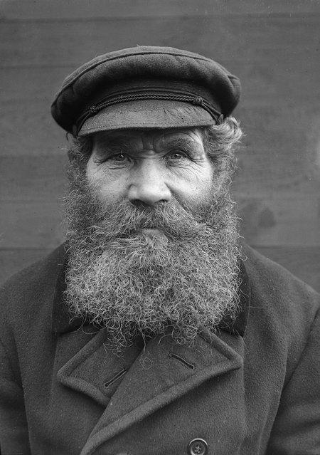 The crofter G. V. Gustafsson, Margretelund, Uppland, Sweden, 1930s. Born in 1872. (Photo by Einar Erici)