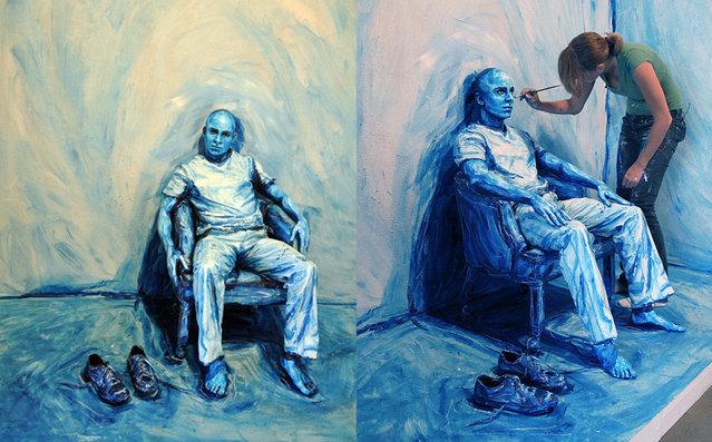 Living Paintings By Alexa Meade