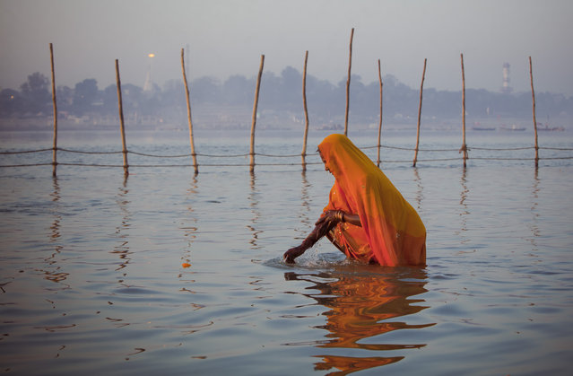 """Seeking Silence India"". India is a buzling country. As an Western Photographer its hard to find a place where you are not bothered. I'm trying to find the ""silence"" in my photography. Location: Allahabad, India. (Photo and caption by Danielle van der Schans/National Geographic Traveler Photo Contest)"