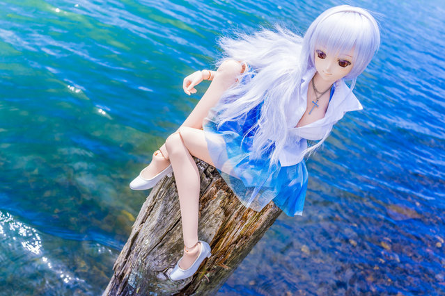 """Summer Lake"". Location: Suwako lake, Japan. (Photo and caption by AZURE)"