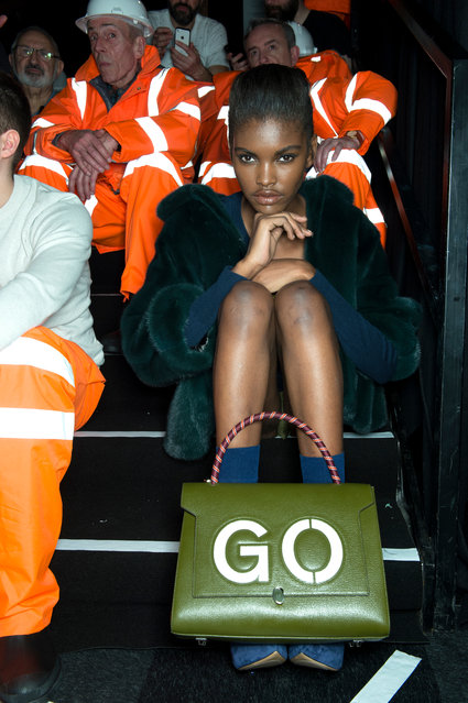 Working for the likes of Elle, Harper's Bazaar and Red, Lever shoots both the dazzling glamour and the odd ordinariness of the fashion world. Here: Anya Hindmarch, Autumn/Winter 2015. (Photo by Matt Lever)