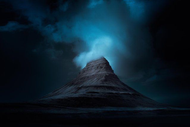 Location: Kirkjufell. These eerily stunning images taken using infrared lighting reveal the landscapes of Iceland in all their natural glory. (Photo by Andy Lee/Caters News)