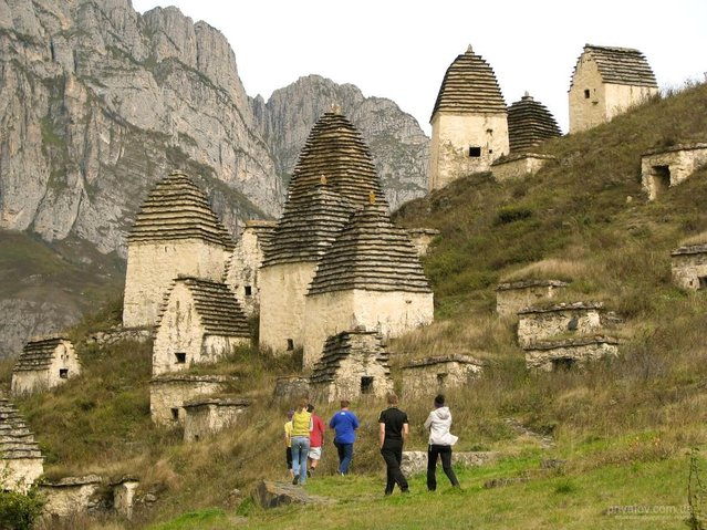 City Of The Dead In Dargavs, North Ossetia