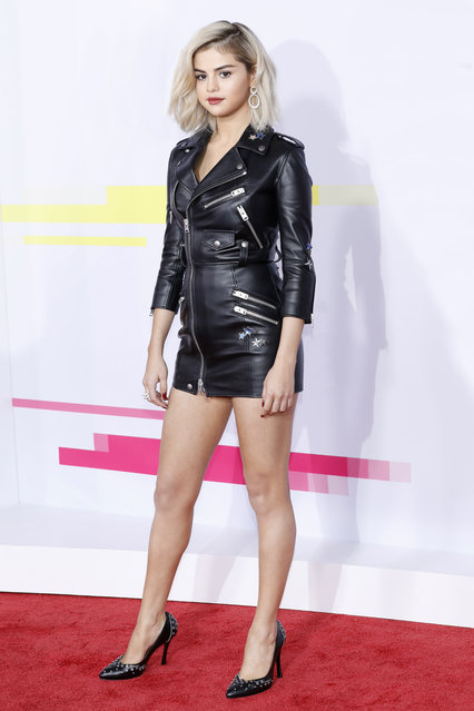 Selena Gomez photographed at the 2017 American Music Awards at Microsoft Theater on November 19, 2017 in Los Angeles, California, United States. (Photo by Kurt Krieger/Corbis via Getty Images)