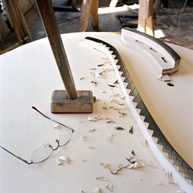 The Making of A Steinway Piano  By Christopher Payne