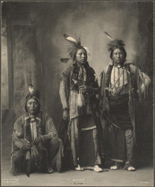 In Summer, Kiowa, 1899. (Photo by Frank A. Rinehart)