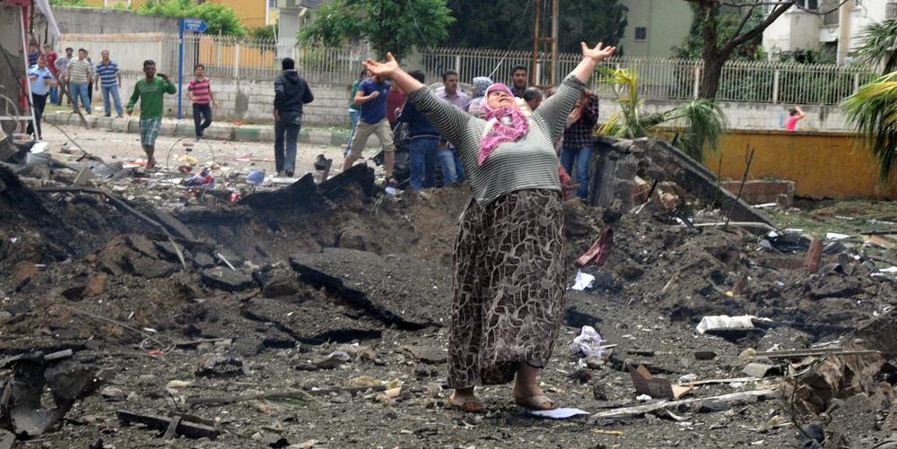 Bomb Attact At Reyhanli, Turkey