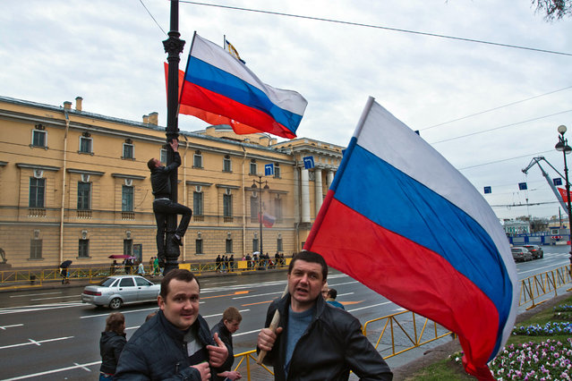 """""""Flag thiefs"""". (Ilya Shtutsa)"""