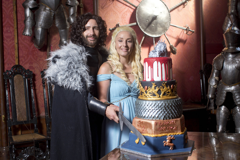 Game of Thrones Fan Wedding