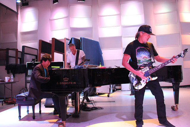 Lang Lang Rehearses With Metallica For The 2014 Grammys