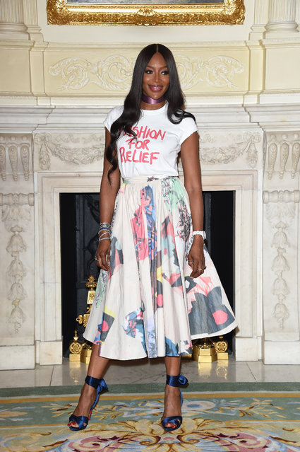 Naomi Campbell attends The Fashion Awards 2019 and Fashion For Relief special announcement at The Ritz on June 24, 2019 in London, England. (Photo by David M. Benett/Dave Benett/Getty Images)