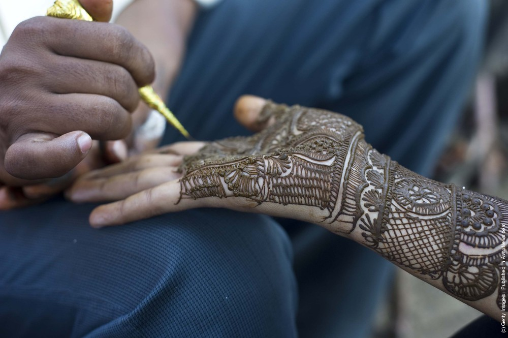 Mehndi, Or Indian Henna Tradition