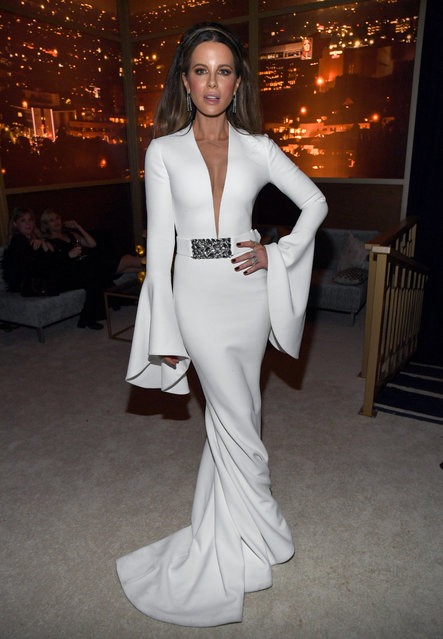 Kate Beckinsale attends The 2020 InStyle And Warner Bros. 77th Annual Golden Globe Awards Post-Party at The Beverly Hilton Hotel on January 05, 2020 in Beverly Hills, California. (Photo by Kevin Mazur/Getty Images for InStyle)