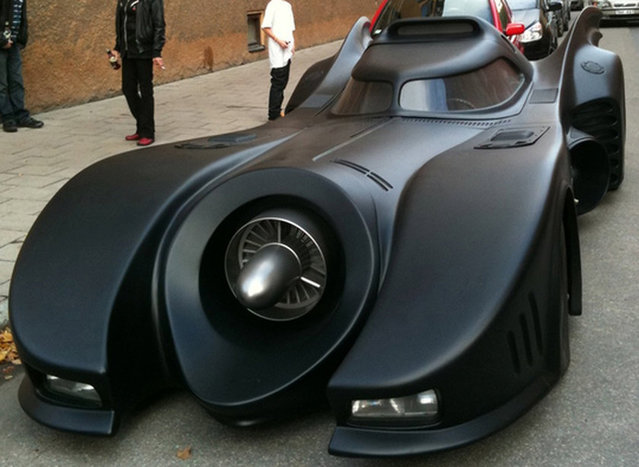 Batmobile Replica Spotted in Sweden