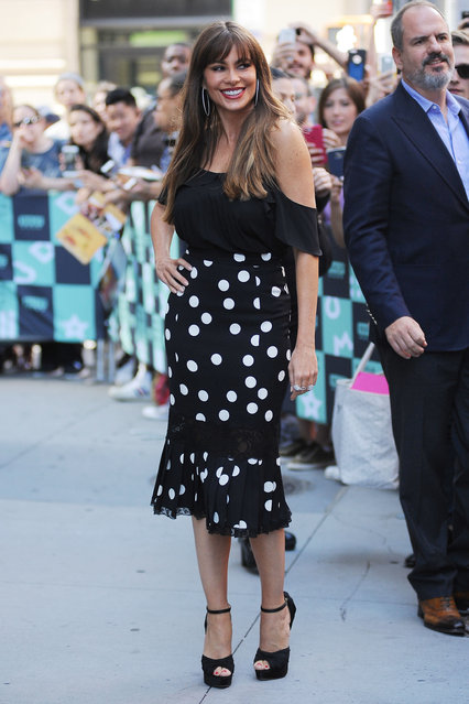 Actress Sofia Vergara is seen on September 27, 2017 in New York City. (Photo by UMV/Star Max/GC Images)