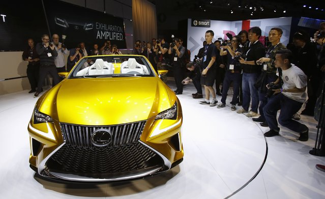 The Lexus LF-C2 concept vehicle is shown during the model's world debut at the Los Angeles Auto Show in Los Angeles, California November 19, 2014. (Photo by Mario Anzuoni/Reuters)
