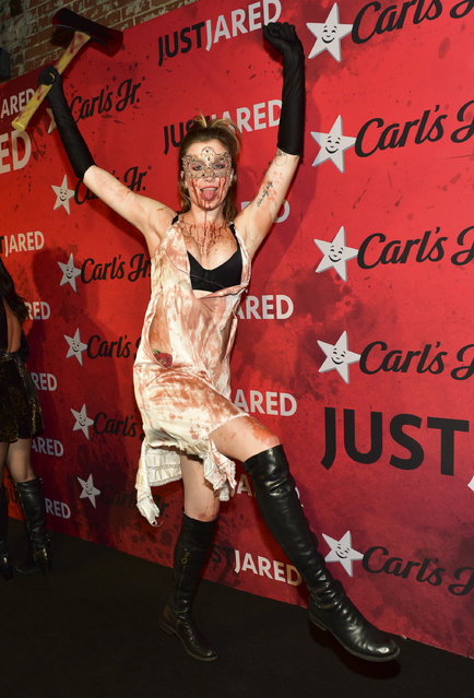 Ireland Baldwin attends Just Jared's 7th Annual Halloween Party at Goya Studios on October 27, 2018 in Los Angeles, California. (Photo by Rodin Eckenroth/Getty Images)