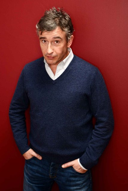 Actor Steve Coogan poses for a portrait during the 2014 Sundance Film Festival at the Getty Images Portrait Studio at the Village At The Lift on January 21, 2014 in Park City, Utah. (Photo by Larry Busacca/AFP Photo)