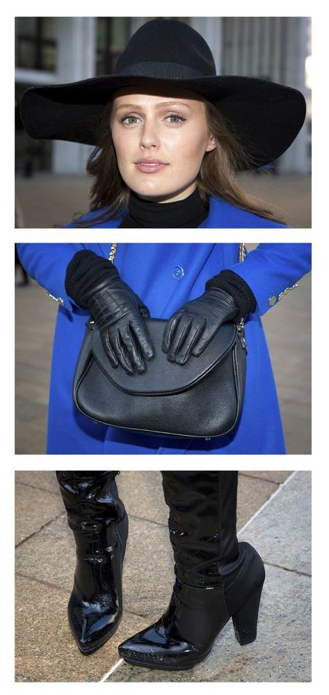 Triptych Portraits During New York Fashion Week 2014