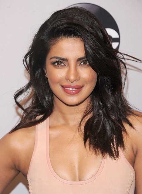 Priyanka Chopra attends the 2016 ABC Upfront at David Geffen Hall on May 17, 2016 in New York City. (Photo by Brad Barket/Getty Images)