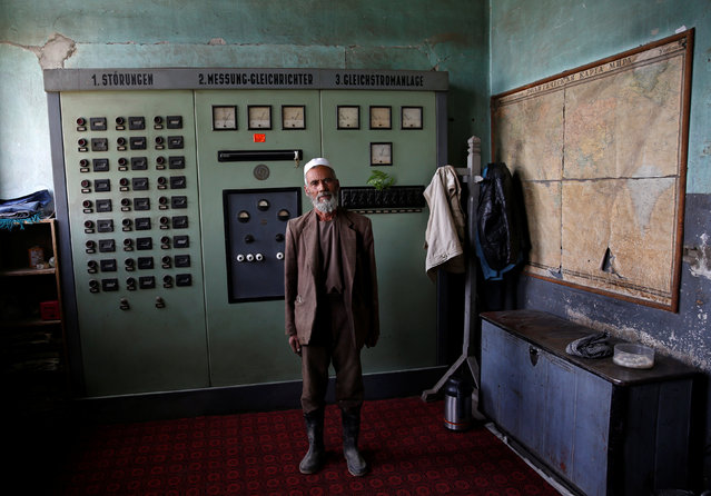 Abdul Salaam, an electrician at the Jabal Saraj cement factory, poses for a photograph in Jabal Saraj, north of Kabul, Afghanistan May 8, 2016. (Photo by Ahmad Masood/Reuters)