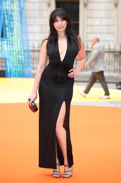 Daisy Lowe attends the preview party for the Royal Academy Summer Exhibition at Royal Academy of Arts on June 7, 2017 in London, England. (Photo by Mike Marsland/Mike Marsland/WireImage)