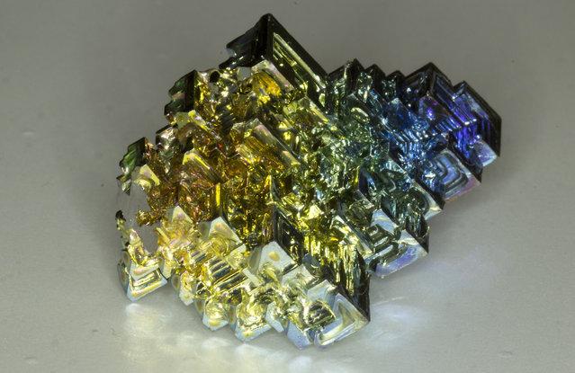 Amazing Bismuth Crystal