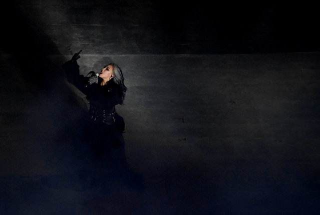 South Korean singer CL performs during the closing ceremony of the PyeongChang Winter Olympic Games at the Olympic Stadium in Pyeongchang, South Korea, on February 25, 2018. (Photo by Florian Choblet/Reuters)