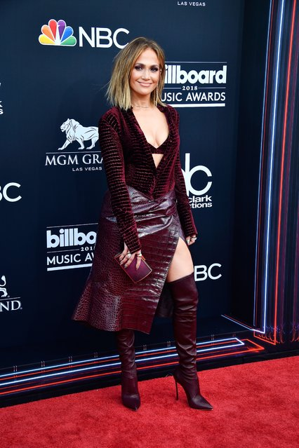 Recording artist Jennifer Lopez attends the 2018 Billboard Music Awards at MGM Grand Garden Arena on May 20, 2018 in Las Vegas, Nevada. (Photo by Frazer Harrison/Getty Images)