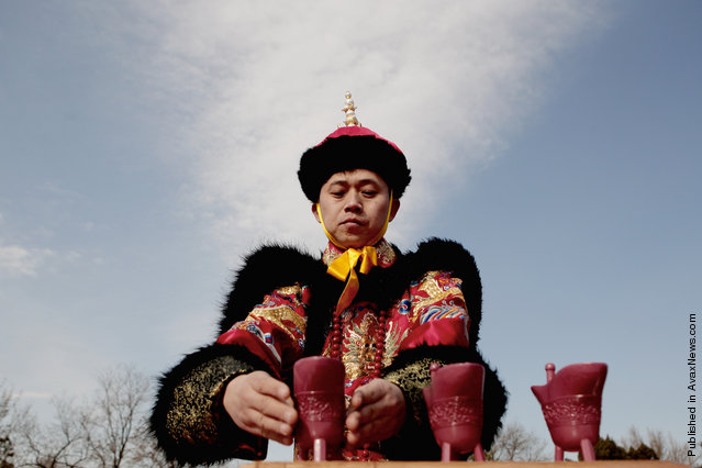 China Marks Day Of Vernal Equinox