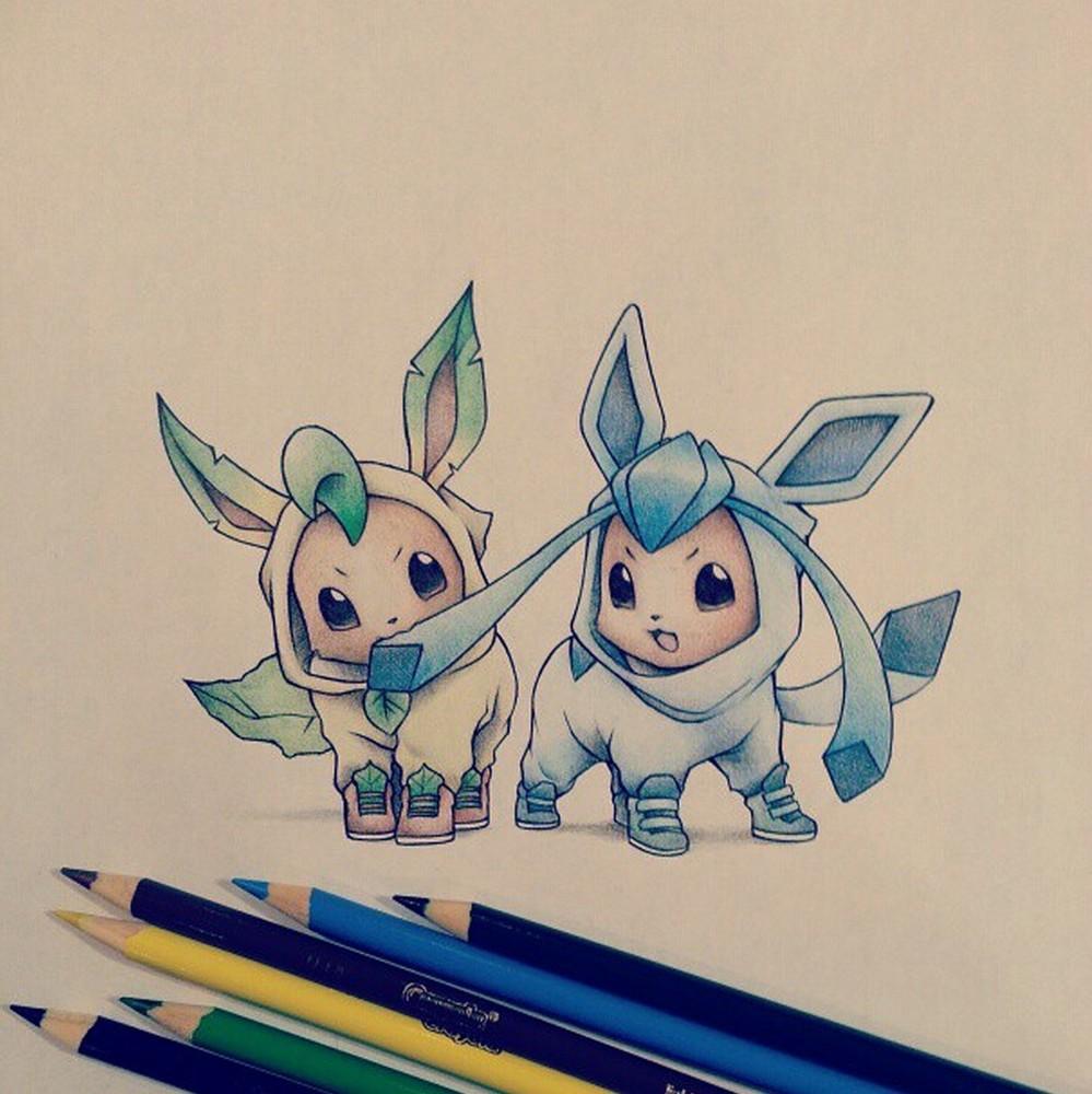 Adorable Pokemon Art by Randy C