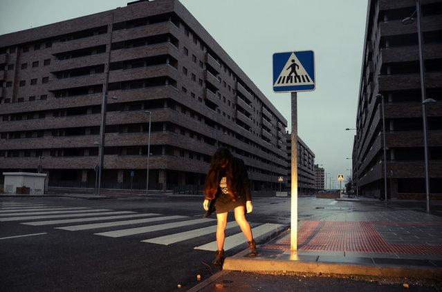 """""""40° 7'43.20""""N 3°40'13.41""""W"""". (Photo by Simon Pillet)"""