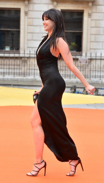 Daisy Lowe attends the preview party for the Royal Academy Summer Exhibition at Royal Academy of Arts on June 7, 2017 in London, England. (Photo by PA Wire)