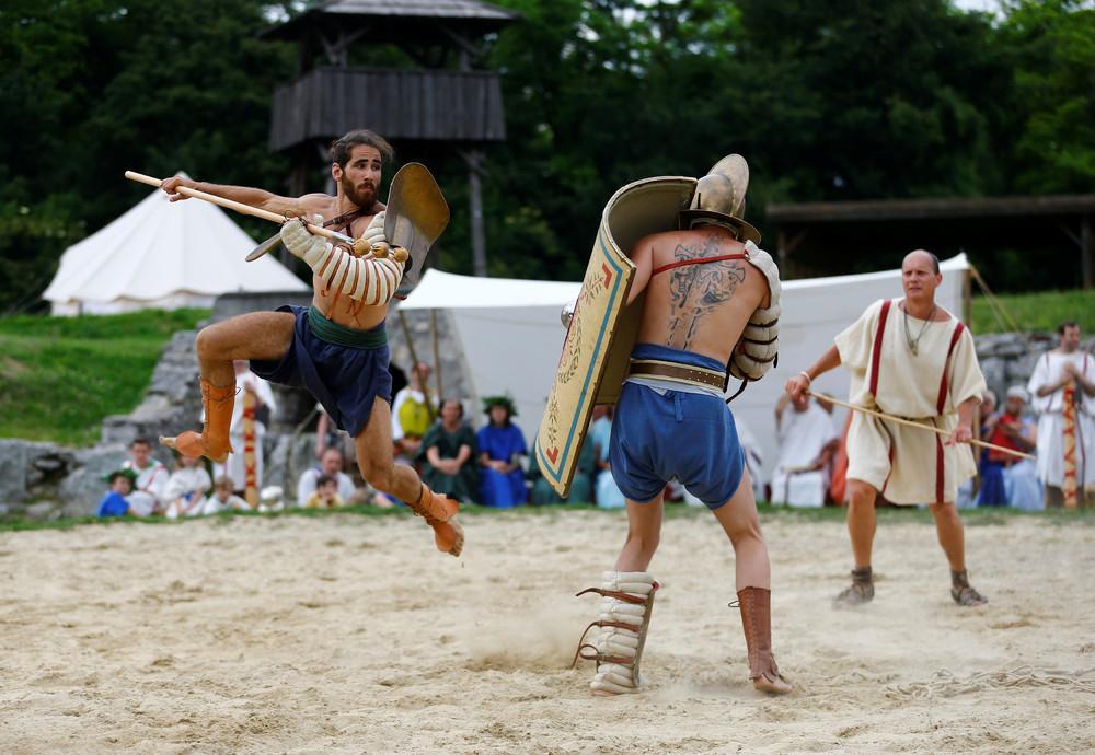 Gladiator Fights in Austria