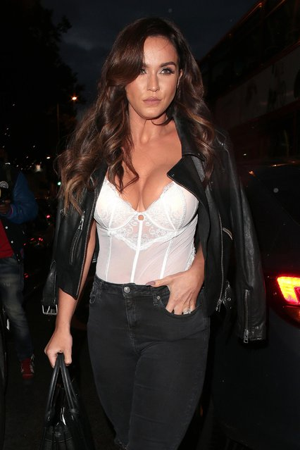 Vicky Pattison attends Ann Summers – a/w 2017 launch party on July 27, 2017 in London, England. (Photo by Ricky Vigil/GC Images)