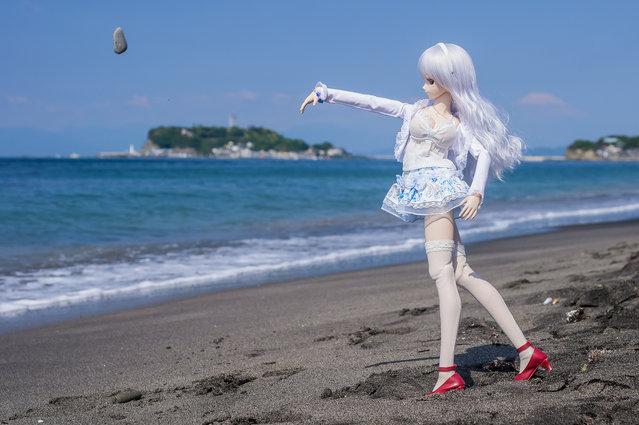 Throw in. Model: DollfieDream Rina Ogata
