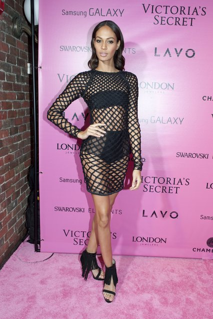 Model Joan Smalls attends the after party for the 2012 Victoria's Secret Fashion Show at Lavo NYC on November 7, 2012 in New York City. (Photo by Jim Spellman/WireImage)