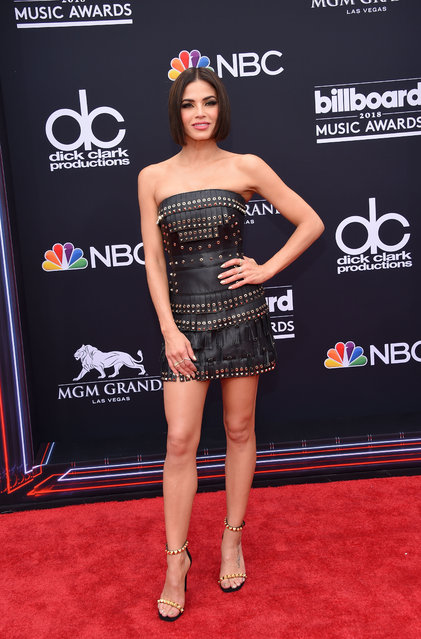 Actress Jenna Dewan attends the 2018 Billboard Music Awards 2018 at the MGM Grand Resort International on May 20, 2018 in Las Vegas, Nevada. (Photo by Lisa O'Connor/AFP Photo)