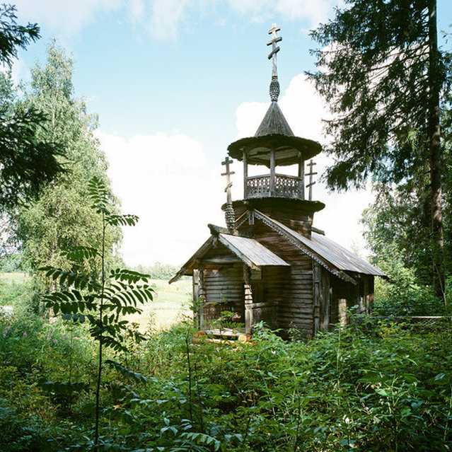 Wooden Churches - Travelling In The Russian North By Richard Davies Part 1