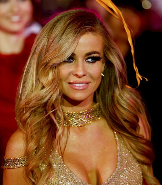 Actress Carmen Electra arrives for the opening ceremony of the 23rd Life Ball in Vienna, Austria May 16, 2015. (Photo by Leonhard Foeger/Reuters)