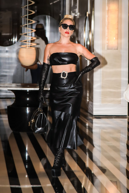 Lady Gaga is seen on June 24, 2019 in New York City. (Photo by Say Cheese!/GC Images)