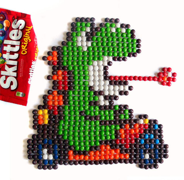 Skittle Art By Matt McManis